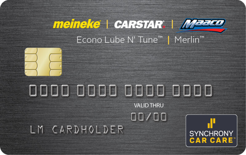 Econo Lube Credit Card