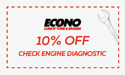 10% off check engine